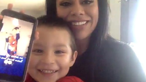 'I feel super blessed': Round Rock mom reunites with missing 4-year-old son