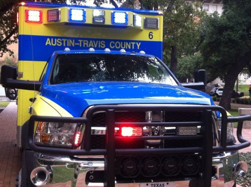 Person reportedly suffering from heat-illness in 30-foot trench box in central Austin