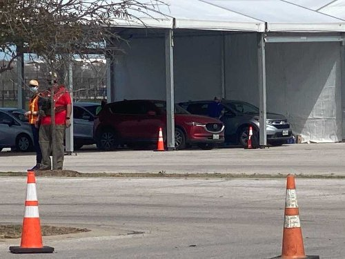 Drive-thru COVID-19 vaccine clinic moves from COTA to Travis County Expo Center