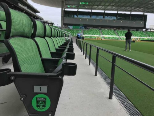 Sorry, McConaughey - the seats at Q2 Stadium are the coolest thing about Austin FC