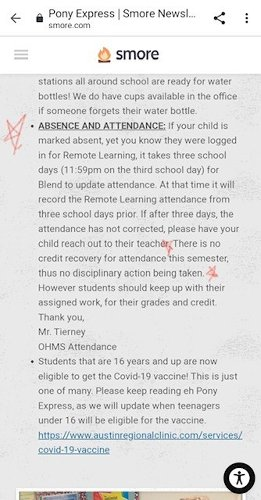 Absent while in class: Austin ISD mom shocked after her child receives 47 absences during in-person learning