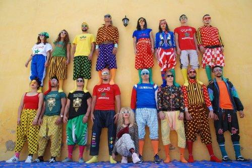 Le Groupe acrobatique de Tanger au festival, une joyeuse cure de jouvence