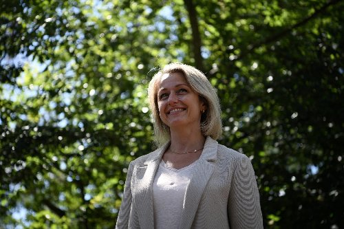 Barbara Pompili, à front renversé de Nicolas Hulot