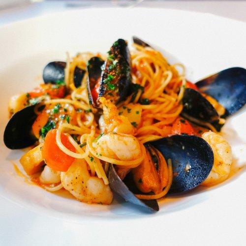 Chef's Recipe: Umberto Menghi's Spaghettini ai Frutti di Mare