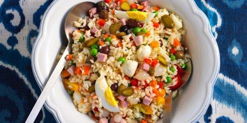 Classic Italian Rice Salad Recipe