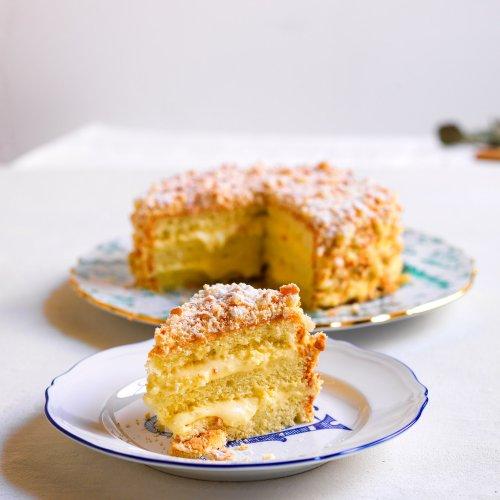 Liguria's Sacripantina Cake