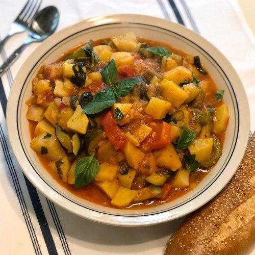 Giambotta, A One-Pot Recipe From My Neapolitan Nonna's Vegetable Garden
