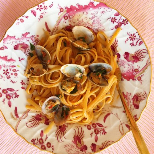 Linguine With Clams and 'Nduja Video Recipe