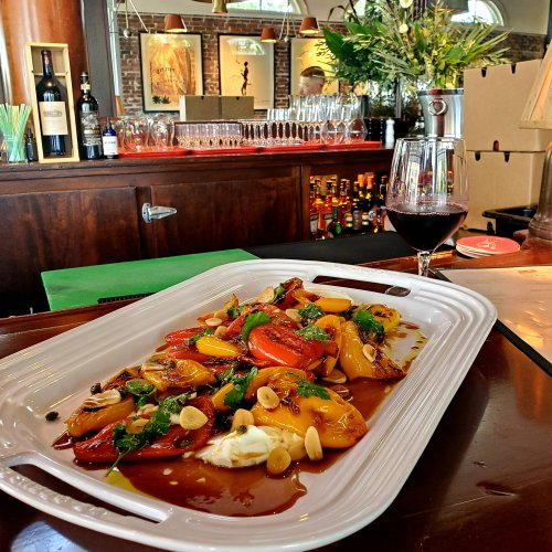 Chef's Recipe: Roasted Sweet Peppers by John Amato