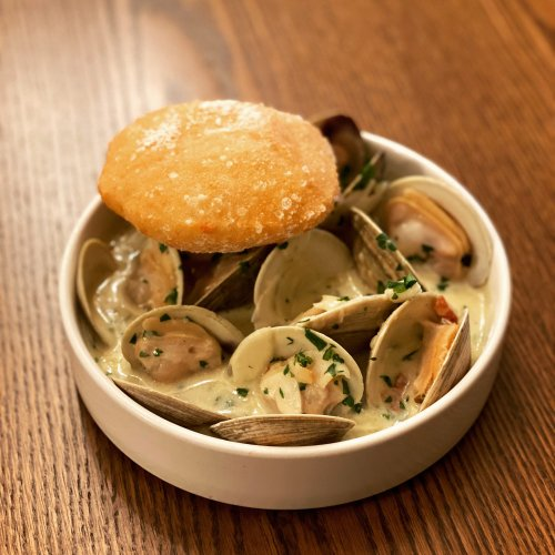 Chef's Recipe: Steamed Littleneck Clams from Giusto's Kevin O'Donnell
