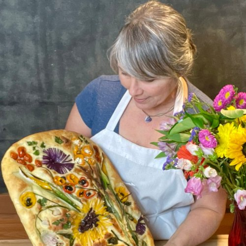 The Vineyard Baker Turns Focaccia Into Art