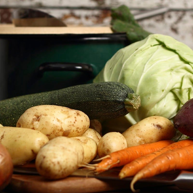 Vegetable Broth and 5 Recipes for Recycling Leftover Veggies