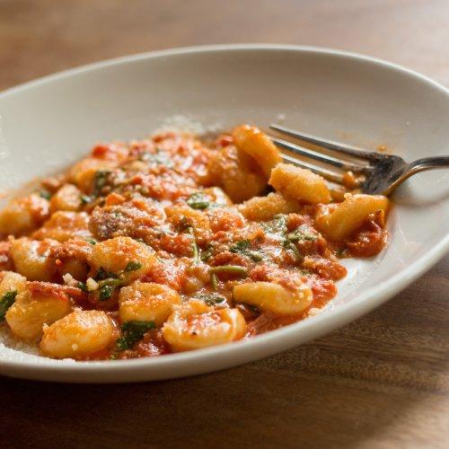 Chef's Recipe: Potato Gnocchi with Tomato Butter Sauce by Cathy Whims of Portland's Nostrana