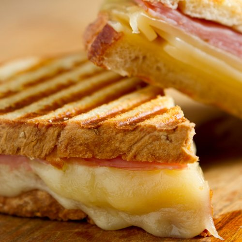 Don't Feel Like Cooking Anymore? Make an Italian Grilled Cheese Sandwich!