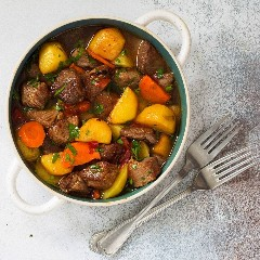 Discover beef stew
