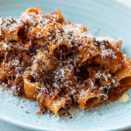 The Story Behind Testaccio's Mezze Maniche al Sugo di Manzo