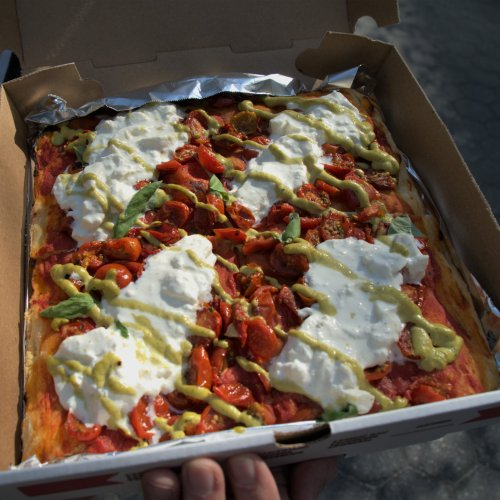 Unregular Pizza, From the Pizza Barterer, Opens in NYC