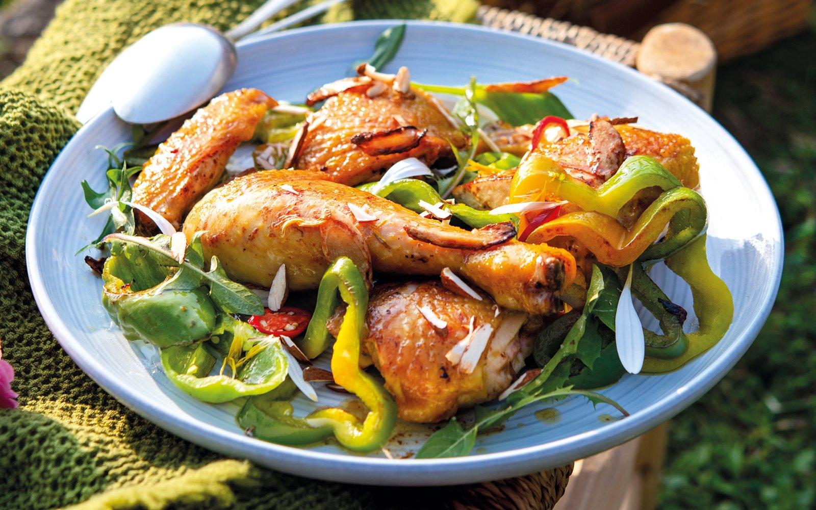 Ricetta Pollo con i peperoni