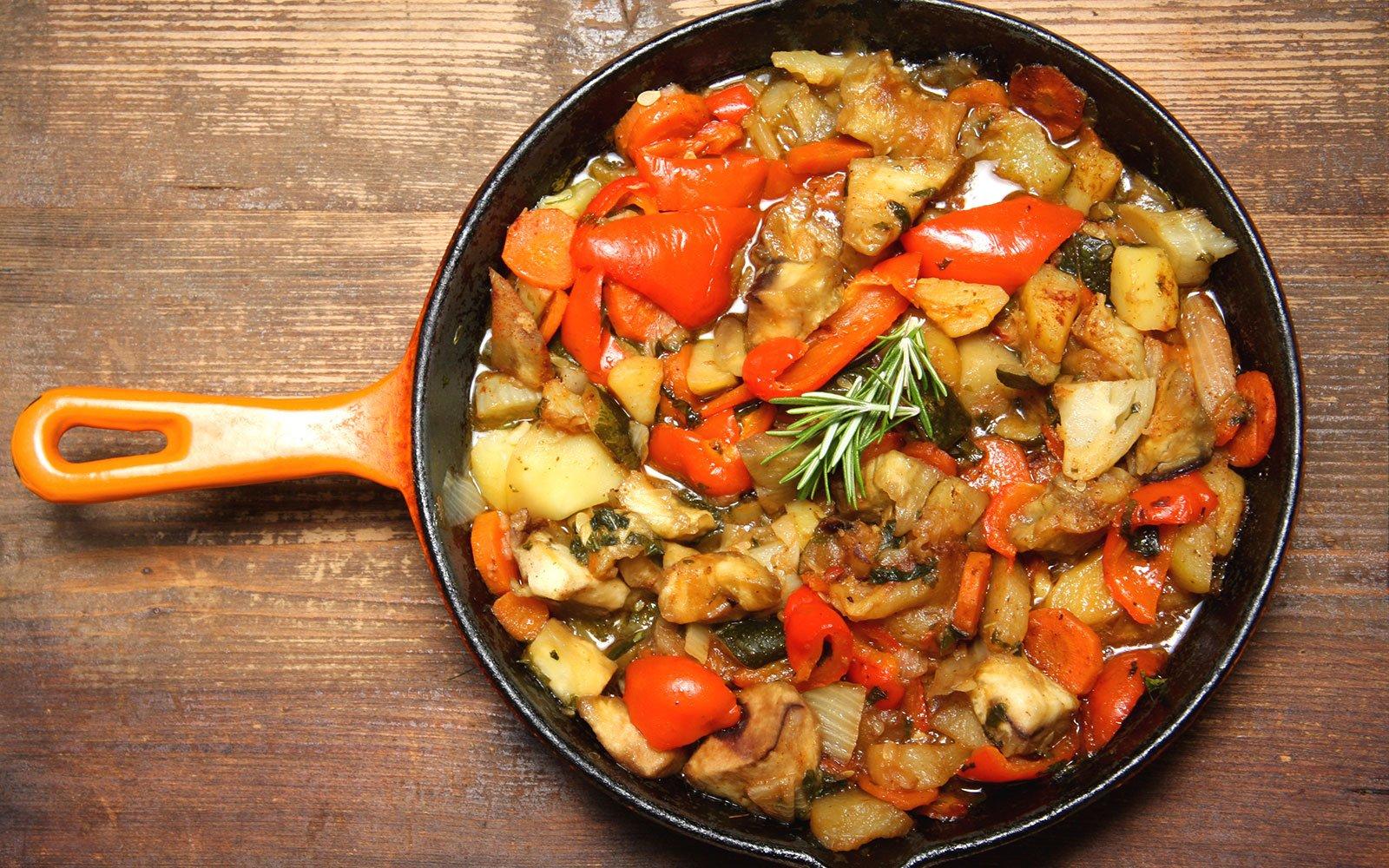 Frecantò di verdure, la versione marchigiana della ratatouille