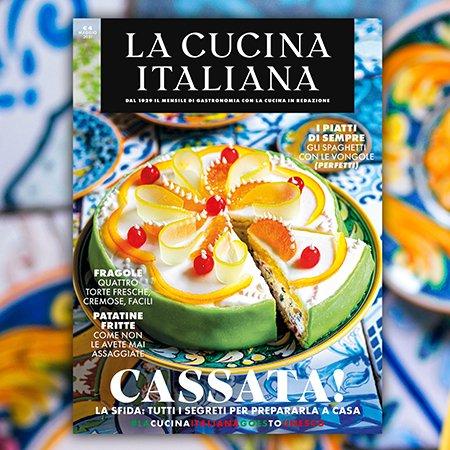 È in edicola il numero di maggio! - La Cucina Italiana