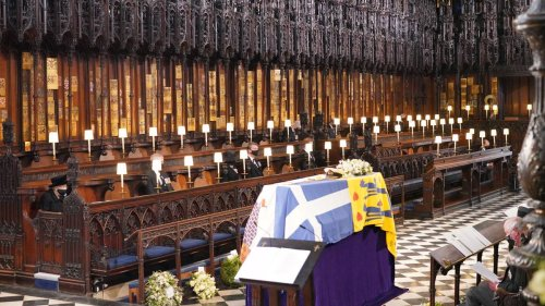 Prince Philip Has Been Laid To Rest At St George's Chapel In Windsor