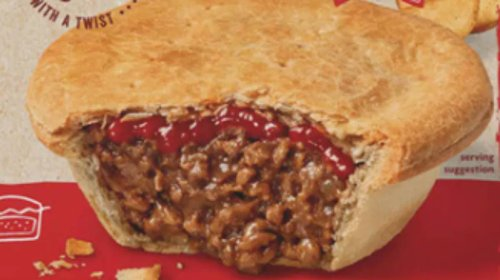 Coles Is Now Flogging Meat Pies With Tomato Sauce On The Inside