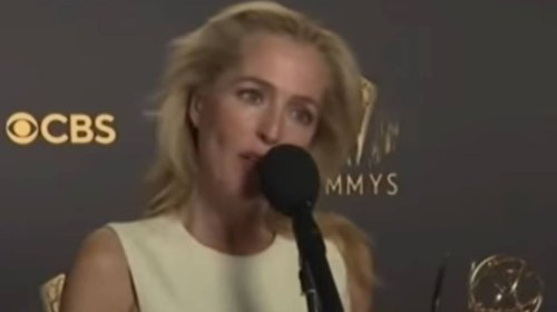Reporter Asks Gillian Anderson If She Spoke To Margaret Thatcher About Crown Role