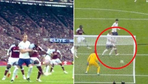Harry Kane Slammed For Lazy Attempt To Man-Mark Michail Antonio For West Ham Winner Vs Spurs