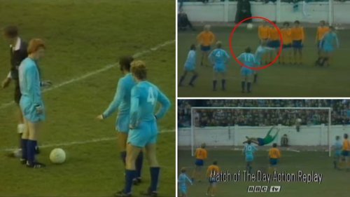 It's Been 51 Years Since The Free-Kick So Genius It Was Banned Straight Away