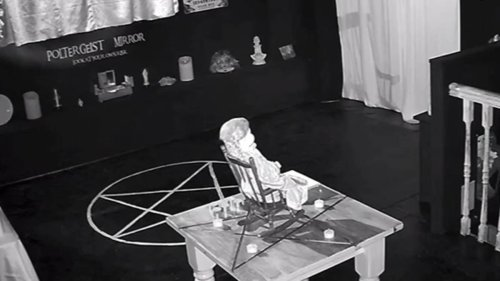'Britain's Most Haunted Doll' Caught Rocking In Chair On CCTV