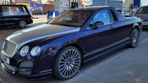 Auto Shop Creates The Bentley 'Decadence' Ute And People Are Divided