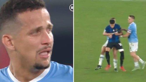 Lazio's Luiz Felipe Sent Off After Jumping On Former Teammate Following Win Against Inter Milan
