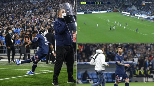 Marseille Vs PSG In Ligue One Was Absolute Chaos