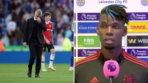 Paul Pogba Takes A Dig At Manchester United Tactics After Loss To Leicester City