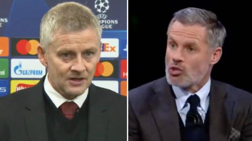 'A Silly Thing To Say' - Jamie Carragher Takes A Swipe At Ole Gunnar Solskjaer's 'Strange' Interview