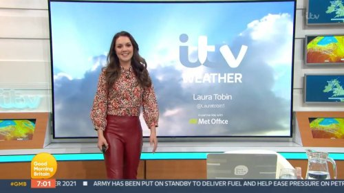 Good Morning Britain Weather Girl Mortified After 'Farting On Air'