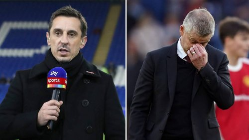 Gary Neville Names The Manager Who Won't Take Charge Of Manchester United