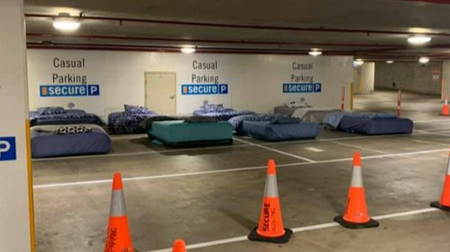 Perth Could Soon Trial A Program That Turns Carparks Into Homeless Shelters At Night