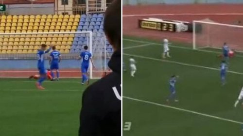 Ukrainian Player Accused Of Match Fixing After Appearing To Celebrate Opponents' Goal