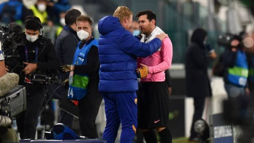 Ronald Koeman Reveals Barcelona Training Incident Left Lionel Messi 'Seriously Angry' For A Week