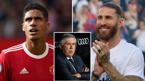 Carlo Ancelotti 'Personally Called' Former Chelsea Star After Exits Of Raphael Varane And Sergio Ramos