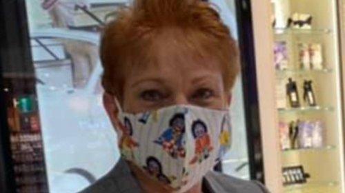 Pauline Hanson 'Loves' Her New Golliwog Face Mask