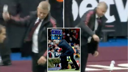 Ole Gunnar Solskjaer Showed Shades Of Jose Mourinho With Furious Touchline Reaction After West Ham's Injury-Time Penalty