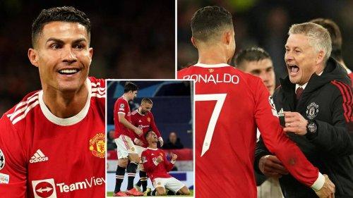 Cristiano Ronaldo Blasted Man United Players With 'Stunning Hairdryer Treatment' At Half-Time Vs Atalanta