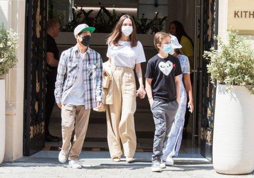Angelina Jolie entourée de ses enfants : elle s'offre une virée remarquée à Paris