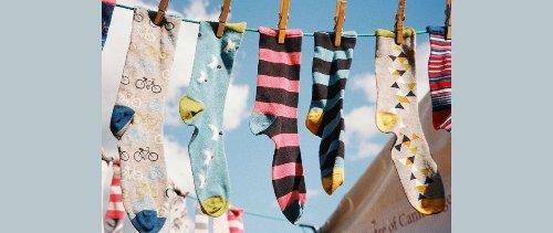 La fin des chaussettes orphelines grâce à l'upcycling