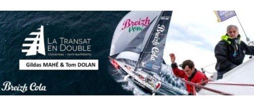 Breizh Cola : Un duo 100% celte au départ de la transat Concarneau - St Barth