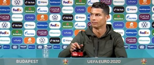 Moins 4 milliards d'euros : comment Ronaldo a fait chuter la capitalisation de Coca-Cola