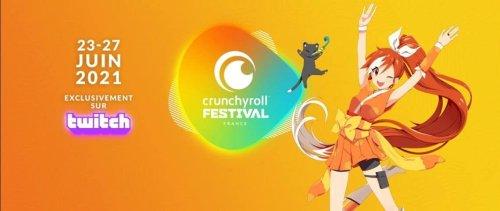 Crunchyroll Festival : un événement en ligne dédié à l'animé et au manga en France
