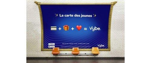 Campagne d'affichage de Vybe : plus d'1 million de vues sur TikTok en 1 journée